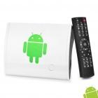 1080P Full HD Android 2.2 Media Player with SD / LAN / HDMI / USB / Wi-Fi (White)