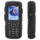 "Outfone A83 Ultra-Rugged Waterproof GSM Cellphone w/ 2.0"" LCD, PTT, JAVA and 512MB TF - Black"