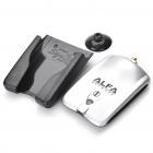ALFA 1000mW 802.11n 54Mbps Wi-Fi Wireless Network Adapter (Black + Silver)