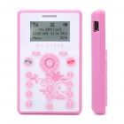 OT-C123 Kids GSM Cellphone w/ 1.2&quot; LCD Screen, Tri-Band and FM - Pink