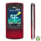 "Refurbished LG KF510 GSM Slide Phone w/ 2.2"" LCD, Triple-band, Java and FM - Red"