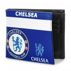 Football Soccer Club Team 2-Fold PU Wallet Purse - Chelsea