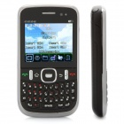 "L1+ Quad SIM GSM TV Barphone w/ 2.2"" LCD Screen, Quadband, Wi-Fi and Java - Black"