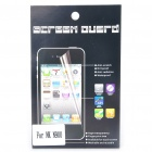 Protective Clear Screen Protector Guard Film with Cleaning Cloth for Nokia N900