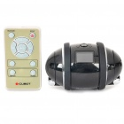 "iCUBOT Bluetooth DIY Programmable MP3 Dancing Robot Speaker w/ 1.0"" LCD, LED Light - Black (4GB)"