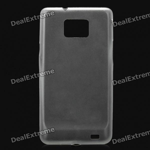 Slim Protective Back Case for Samsung i9100 (Transparent White)