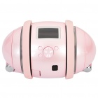 "iCUBOT Bluetooth DIY Programmable MP3 Dancing Robot Speaker w/ 1.0"" LCD, LED Light - Pink (4GB)"