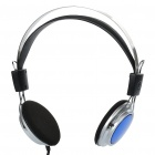 2.4GHz Digital Wireless Headphone w/ FM / TF - Black + Blue