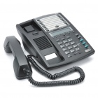 3 Lines Business Phone Conference Telephone - Black
