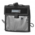 600D Oxford-Zertifikat / Card Bag Holder - Schwarz
