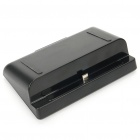Compact USB Charging Dock Cradle for Samsung i9220 Galaxy Note - Black