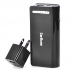 5200mAh Mobile Emergency Power Charger w/ White 1-LED Flashlight + 8 Cell Phone Charging Adapters