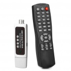USB 2.0 Global Analog TV Tuner Dongle w/ Remote Controller - Silver (PAL / NTSC / SECAM)