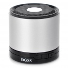 Stylish Bluetooth V2.1 MP3 Music Speaker - Silver + Black