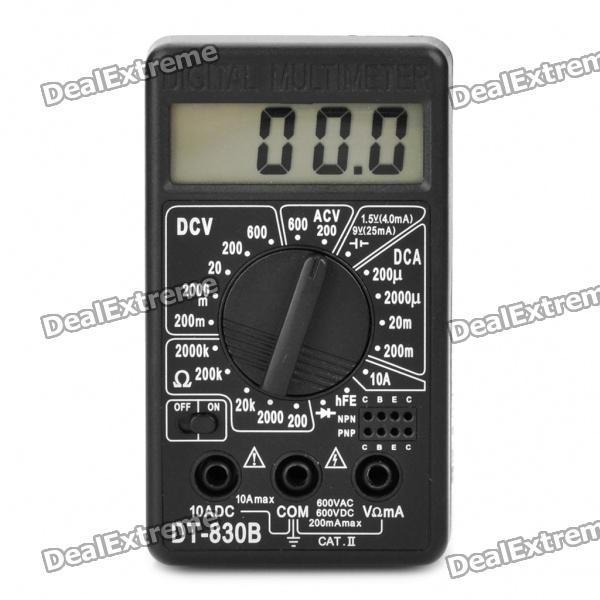 DT-830B 1.8 LCD Digital Multimeter (1 x 6F22/9V Battery) dt 830b 1 8 lcd digital multimeter 1 x 6f22 9v battery