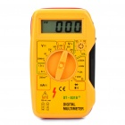 "DT-831B+ 1.8"" LCD Digital Multimeter - Yellow (1 x 6F22/9V Battery)"