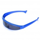 Novelty Funny Single Lens Sunglasses - Blue