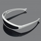 Novelty Funny Single Lens Sunglasses - White