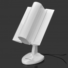 High Power High Gain 2.4-5.8GHz 12/15/18 DBI Adjustable Folding Directional Antenna - White