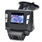 "2.0"" TFT 5.0MP Night Vision Car DVR Camcorder w/ TF Card/USB Slot - Black"