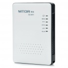 Mini Portable 3G 2400-2483.5MHZ IEEE802.11b/g/n IEEE802.3 Wireless Router - Black