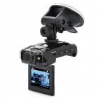 "720P 3.0MP CMOS Wide Angle Car DVR Camcorder w/ 2-IR LED / HDMI / TF (2.0"" TFT LCD)"