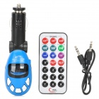 Full Range FM Transmitter MP3 Player with IR Remote (SD/MMC/MP3/USB/3.5mm)