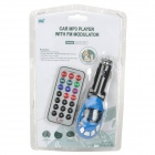 Full Range Transmissor FM MP3 Player com IR Remote (SD/MMC/MP3/USB/3.5mm)