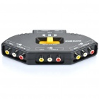 4-Port Audio Video Switcher (3-IN / 1-OUT)