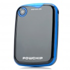 5000mAh Mobile Emergency Power Charger with 7 Cell Phone Charging Adapters (Black + Blue)