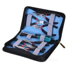 6 Pliers + 1 Screwdriver with Carrying Bag Set Electronic Tool Kit (Set of 8)
