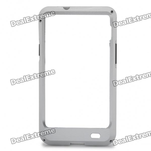 Protective Aluminum Alloy Bumper Frame with Screwdriver + 8 Screws for Samsung i9100 (Silver )
