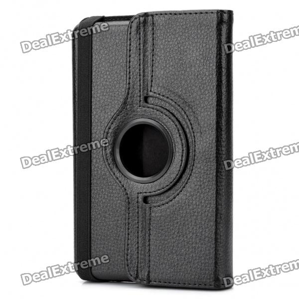 Protective PU Leather Case for Kindle Fire - Black стоимость