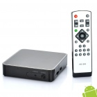 Jesurun J01 1080P Android 2.3 Network Media Player w / Dual USB / SD / LAN / HDMI / WiFi + More (4GB)