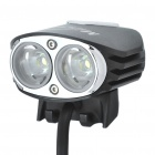MagicShine MJ-880 2 x Cree XM-L 1720LM White Bike Light Set with 6.6 Ah Battery