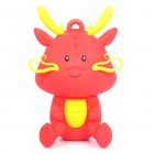 Kingston Cute Dragon Figure 8 GB USB Flash Drive - Red + Yellow (Year of the Dragon Limited Edition)