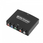 HDMI to YPbPr + R/L Audio Converter - Black