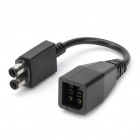 Power Adapter Transfer Cable for Xbox 360 Slim - Black (10CM Length)
