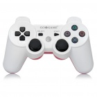 GOIGAME Rechargeable Bluetooth Wireless DoubleShock SIXAXIS Controller for PS3 - White + Red