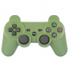 GOIGAME Rechargeable Bluetooth Wireless DoubleShock SIXAXIS Controller for PS3 - Army Green