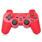 GOIGAME Rechargeable Bluetooth Wireless DoubleShock SIXAXIS Controller for PS3 - Red + Black