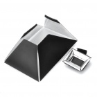 NG-128 Folding Speedlight Flash Soft Box for DSLR - Black