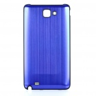 Replacement Aluminum Alloy Battery Cover for Samsung i9220 Galaxy Note - Dark Blue