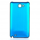 Replacement Aluminum Alloy Battery Cover for Samsung i9220 Galaxy Note - Light Blue