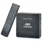 3D Karaoke HD Network Media Player w/ Microphone
