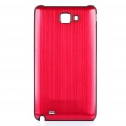 Replacement Aluminum Alloy Battery Cover for Samsung i9220 Galaxy Note - Red