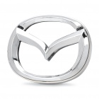 Auto Car Logo Badge Bremse White Light Sticker für Mazda3 (DC 12V)