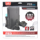 3-in-1 Charging Stand for PS3 Move