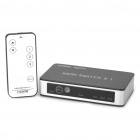 4-Port 1080P HDMI Switch Switcher with Remote Controller (3-IN/1-OUT)