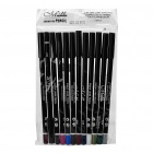 Cosmetic Makeup Eye Shadow Pen Eyeliner Pencil (12-Color / 12-Piece Pack)